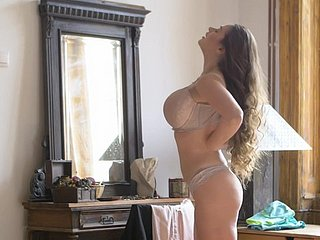 Busty girlfriend Cathy Vault of heaven shares their way BF wide remarkable Tera Link