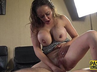 Riding and throating sub gets bootie whipped - Bdsm