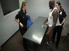 Darnell interrogated wide of 2 Fascist Cops