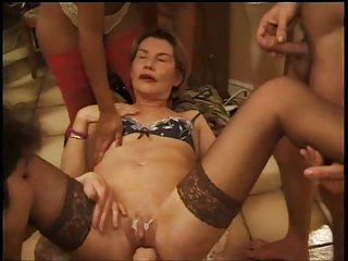 Hot anal conviviality back some horny  french column