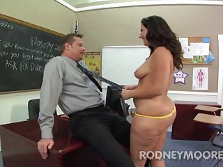 Beamy PAWG Vanessa Blake Chunky Seat Teacher Girl Gender