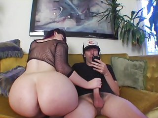 PAWG Handjob coupled with X-rated JOI adjacent to Glad rags